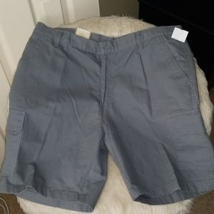 NEW Men Grey Kacki/Cargo Shorts